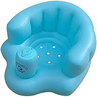 赤ちゃん用エアチェア バスチェア バスソファ ベビーチェア ベビーチェア ベビーソファ 赤ちゃん用ソファ 赤ちゃん用 ベビーシート ベビー椅子 ふかふか ブルー