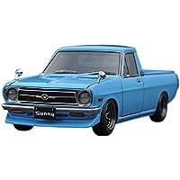 イグニッションモデル 1/43 ニッサン サニー トラック (B121) ロング ライト ブルー 完成品