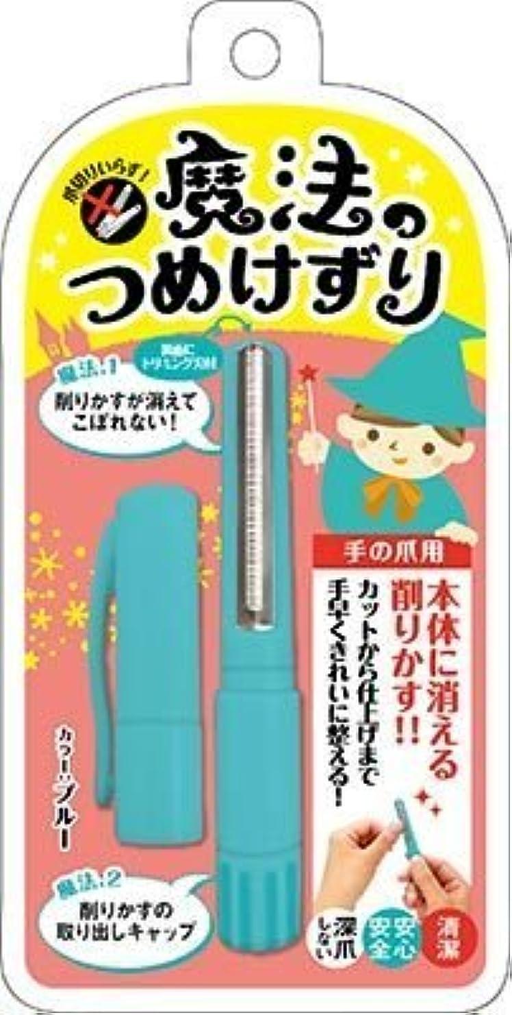 わずらわしい広告主ゴミ箱魔法のつめけずり ブルー × 3個セット