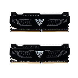 PATRIOT パトリオット デスクトップ用メモリ Viper White LED シリーズ DDR4 16GB (2 x 8GB) 3200MHz Kit PVLW416G320C6K