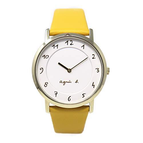 アニエスベー アニエス agnesb レディース 腕時計 30周年記念 限定モデル 800本限定 国内正規品 (FCSK714(イエロー))