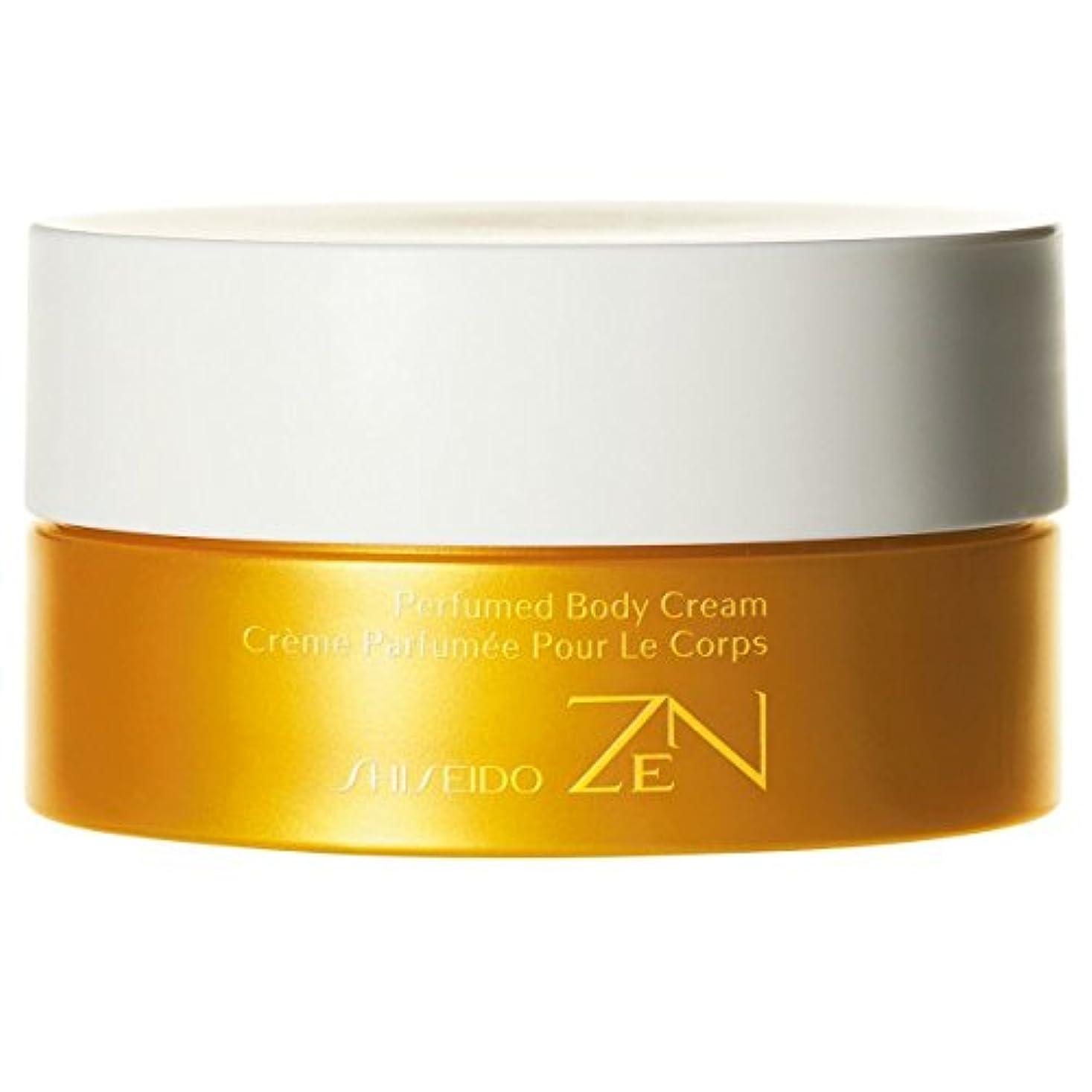 高くクラシカル彫刻[Shiseido ] 資生堂禅香りのボディクリーム200ミリリットル - Shiseido Zen Perfumed Body Cream 200ml [並行輸入品]
