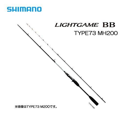 シマノ ロッド ライトゲーム BB タイプ73 MH200