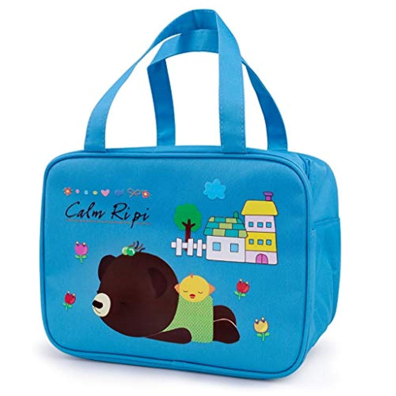 に慣れ浸す邪魔する保温バッグ携帯用お弁当箱トートバッグとしてもご利用いただけます冷蔵バッグ (色 : A)