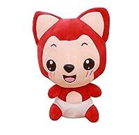 ぬいぐるみ、桃の枕、アライグマの人形、人形、クリエイティブドール、バレンタインデー、パーフェクトギフト ( Color : C , Size : 35cm )