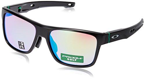 [オークリー] Oakley サングラス 0OO9371 メンズ ポリッシュドブラック/プリズムゴルフ 日本 57 (Free サイズ)