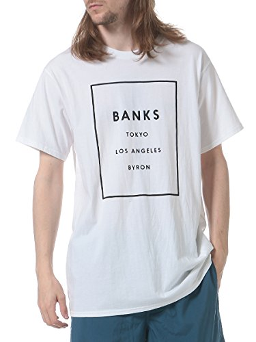 バンクスオーガニックコットン ロゴプリントTシャツ