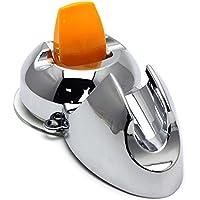 Kingsie シャワーホルダー シャワーフック シャワーヘッドホルダー 吸盤式 穴開け不要 取り付け簡単
