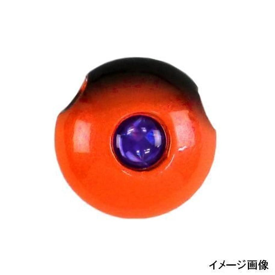 提唱する本当にチャンバーハヤブサ(Hayabusa) タイラバ 無双真鯛フリースライド 真鯛専用テンヤ玉 潮斬鯛玉 18号 P560 海老オレンジ #15 1個