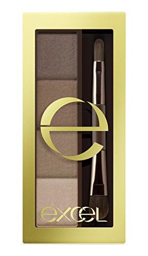 サナ excel エクセル スタイリングパウダーアイブロウ SE01 ナチュラルブラウン 常盤薬品工業