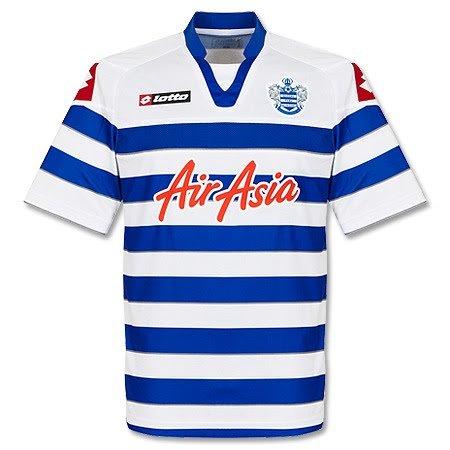 2012-13 QPR Home Lotto Football Shirt