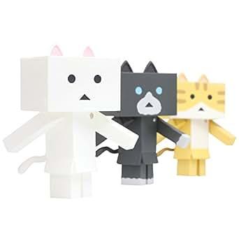 """ニャンボー figure collection A set""""sweet""""(1BOX:3個入りセット) ノンスケール ABS製 塗装済み可動フィギュア"""