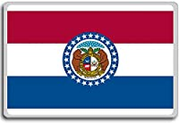 Flag Of Missouri - Flags of the U.S. states fridge magnet - ?????????