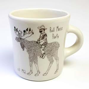 Amazon 【FISHS EDDY】フィッシュエディ Teddy Roosevelt Mug [並行輸入品] マグカップ オンライン通販