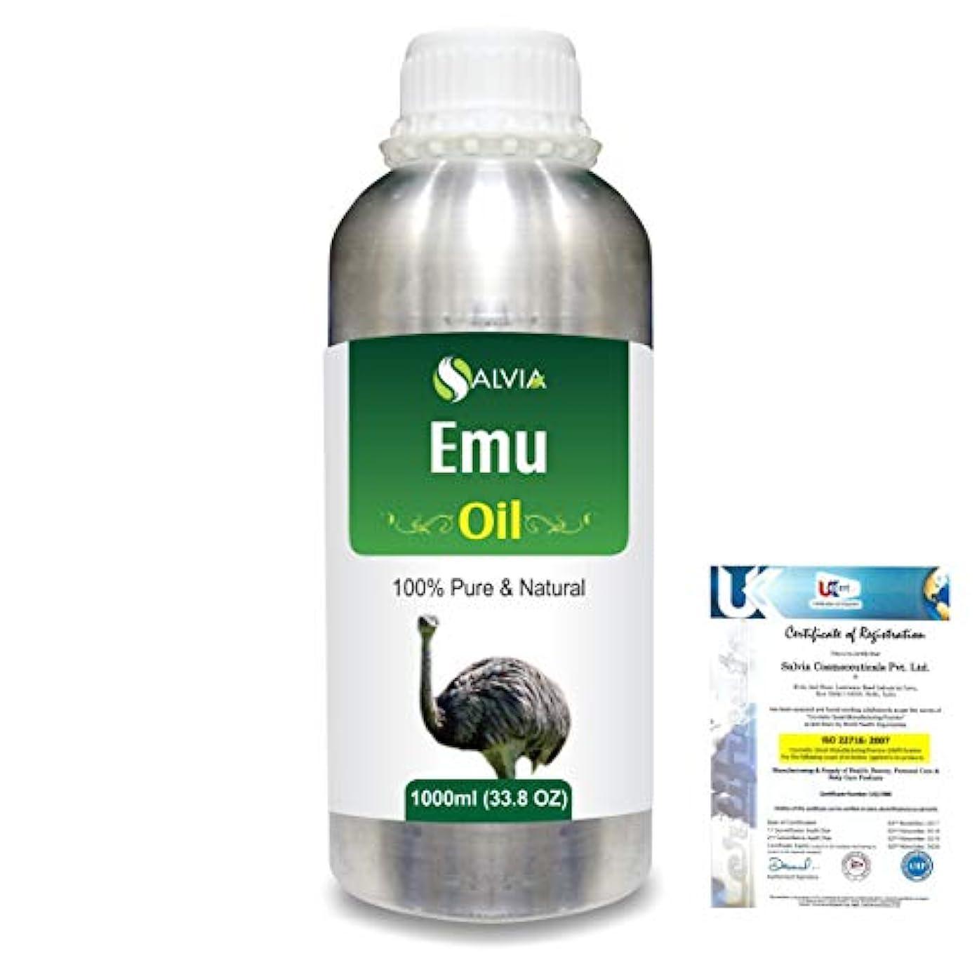 染色リスク歌うEmu 100% Natural Pure Oil 1000ml/33.8fl.oz.