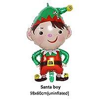 GerTong バルーン クリスマス 風船 アルミバルーン 装飾用バルーン クリスマス雰囲気 クリスマスパーティー クリスマス デコレーション