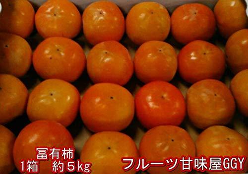 富有柿 訳あり 熊本・福岡産 1箱約5kg サイズ3L〜S ...