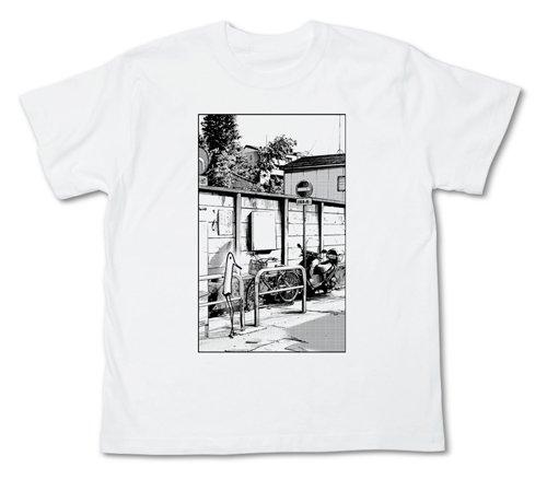 おやすみプンプン 街角のプンプンTシャツ ホワイト サイズ:M