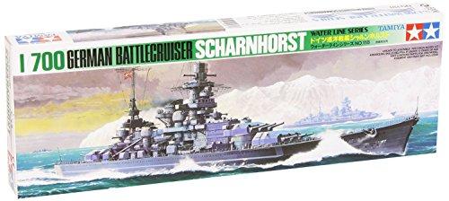 1/700 ウォーターラインシリーズ No.518 1/700 ドイツ海軍 巡洋戦艦 シャルンホルスト 77518