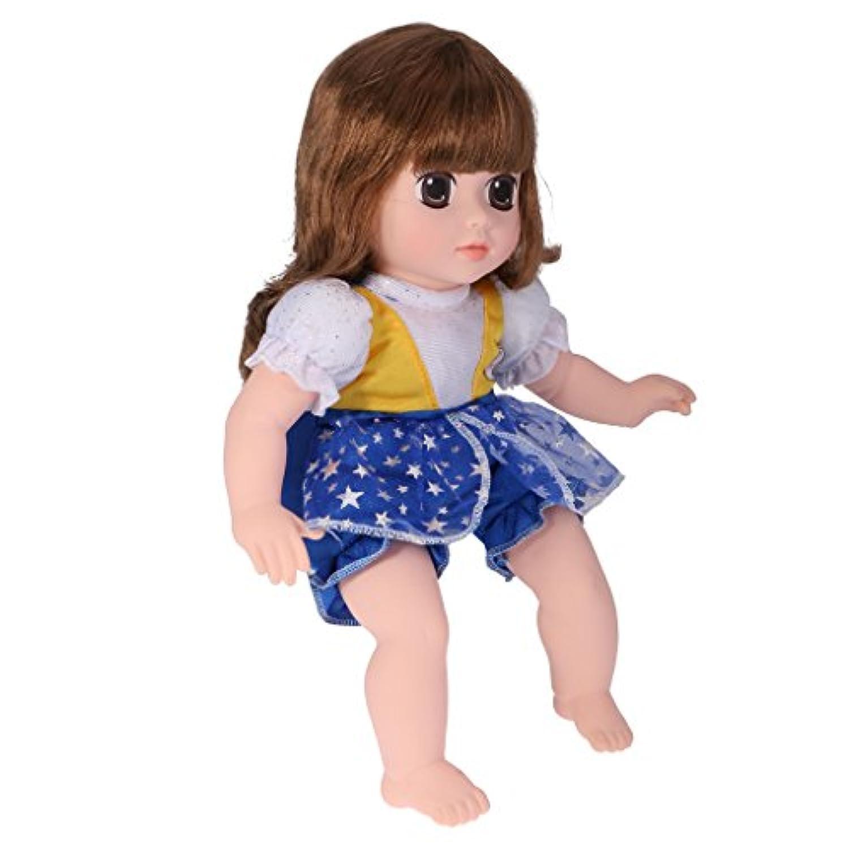SONONIA 可愛い ぬいぐるみ 安全ビニール製 ドール 人形 女の子 子供 赤ちゃん 睡眠 おもちゃ 誕生日 プレゼント ギフト