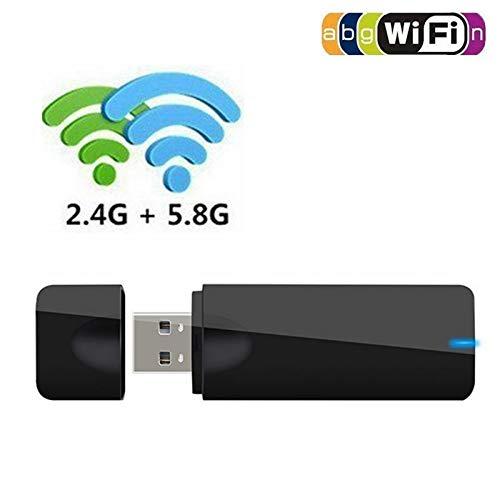 FidgetGear 600M USB 2.4G / 5.8GデュアルバンドWiFiルーターワイヤレスアダプタネットワークLANカード