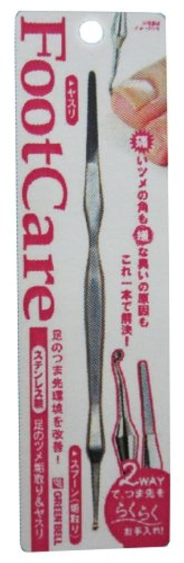 政治家麺ラジウムステンレス製足のツメ垢取り&ヤスリ PSG-021