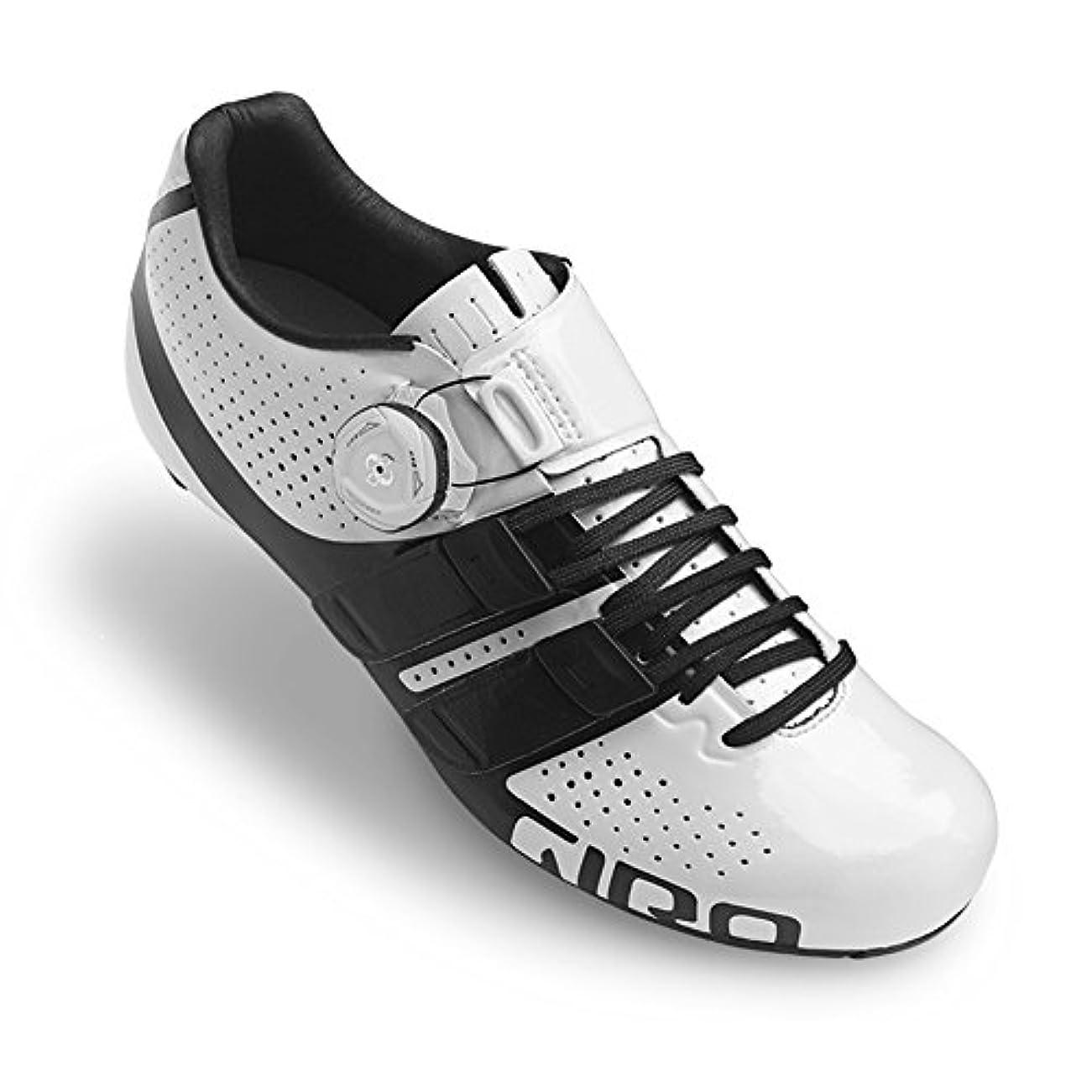 視力引退するクーポンGIRO(ジロ) FACTRESS Techlace Woman Road Cycling Shoes - White/Black [並行輸入品]