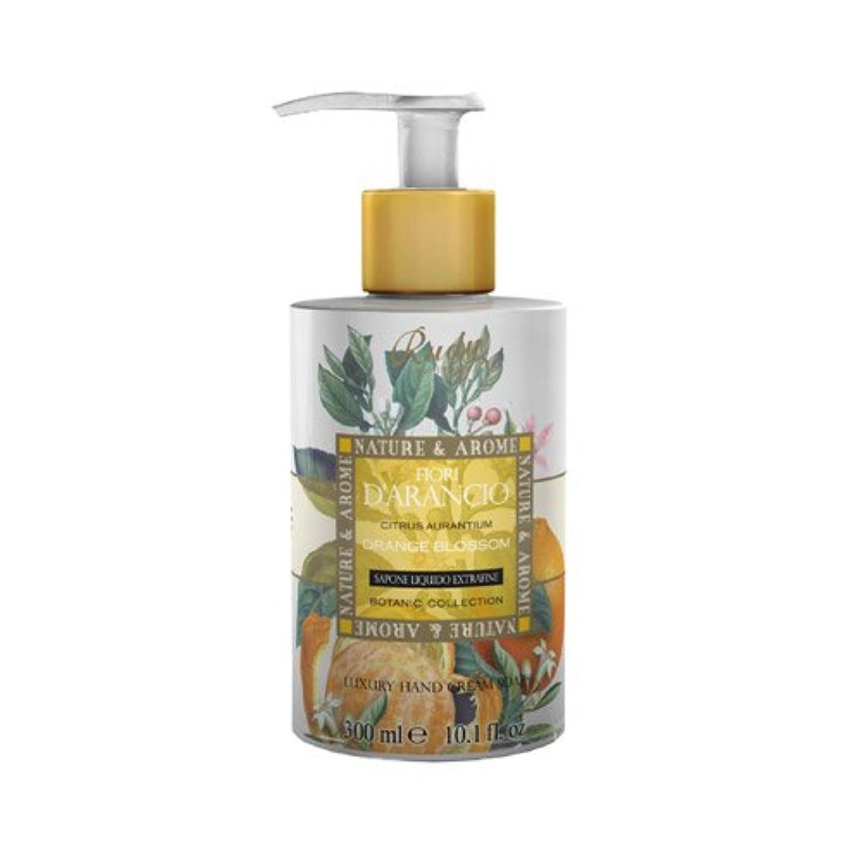 不変朝ごはん汚すRUDY Nature&Arome SERIES ルディ ナチュール&アロマ Liquid Soap リキッドソープ オレンジブロッサム