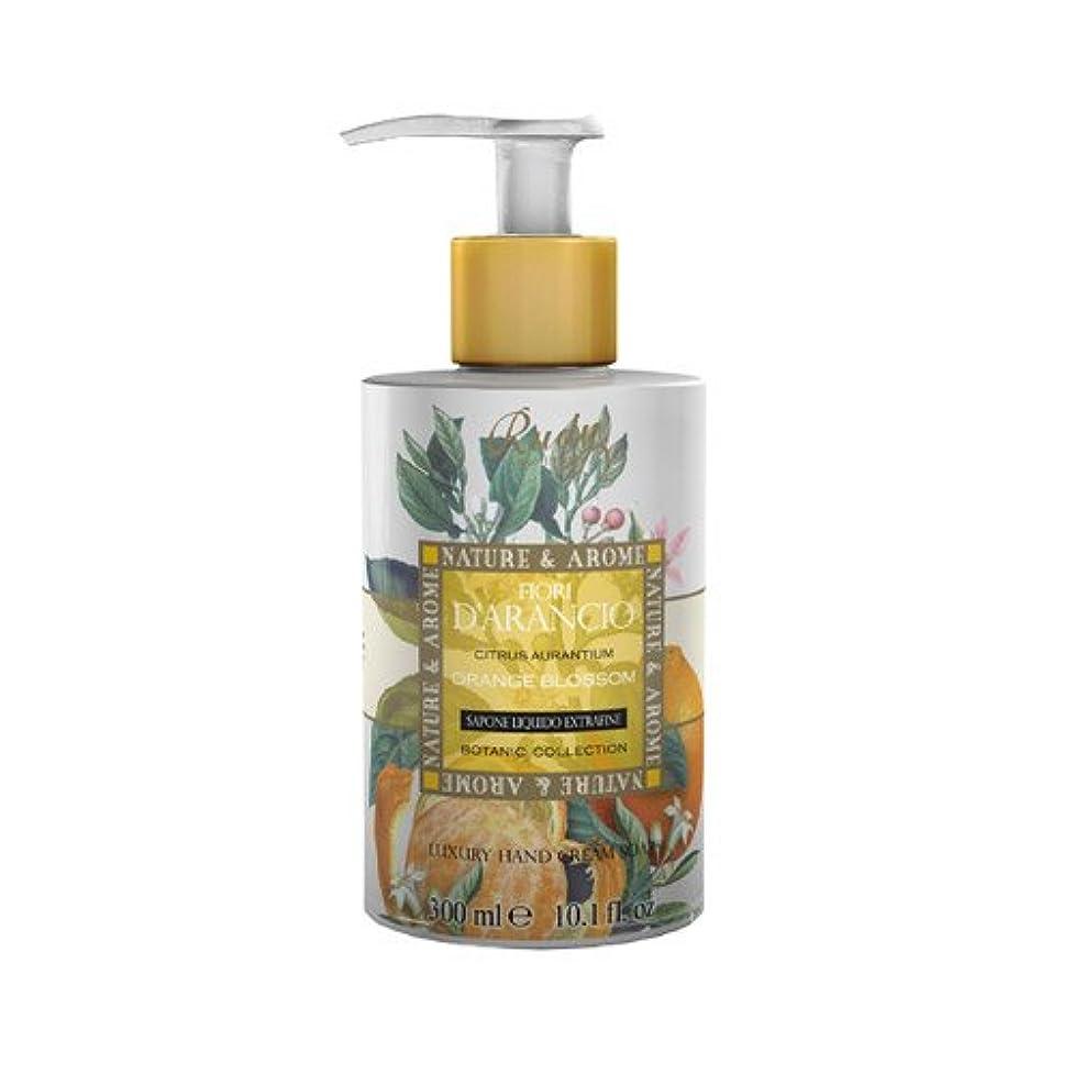 植物学者郵便番号酸っぱいRUDY Nature&Arome SERIES ルディ ナチュール&アロマ Liquid Soap リキッドソープ オレンジブロッサム
