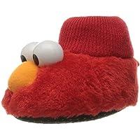 Sesame Street Baby Elmo Puppet Slipper Red 7/8 Child US Toddler