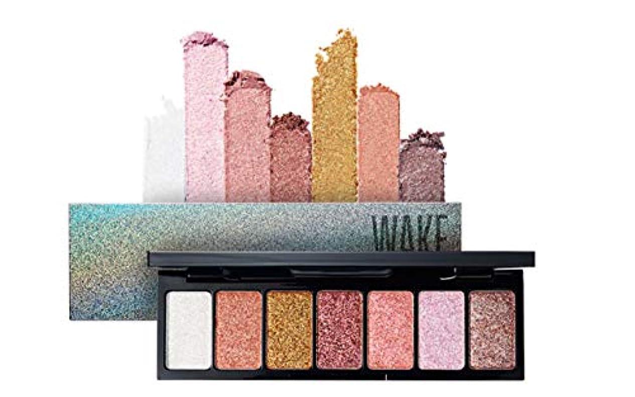 いたずらラブ推定するWAKEMAKE Pocket Styler Eyeshadow Palette 7色のアイシャドウパレット-Dress Up Glitter(並行輸入品)