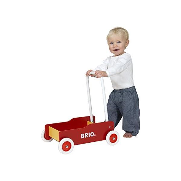 BRIO (ブリオ) 手押し車 レッド [ 木製...の商品画像