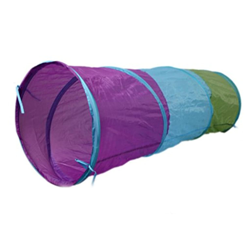 Dovewill 折り畳み式 子供 屋内 屋外 ポップアップ トンネル プレイテント おもちゃ ギフト 幸せな時間