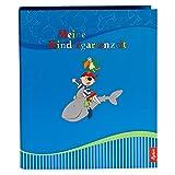 Goldbuch Sammyサモア幼稚園Collector 'sバインダーa4with 4Illustratedページディバイダー、5.5CM脊椎横幅でラミネート加工UVコーティング、ブルー、35446