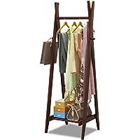 ハンガー- 木製コートラック着陸ハンガーシンプルな近代洋服帽子靴棚ベッドルーム収納ラック -Home Decor