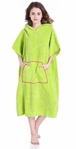 [해외]Winthome 옷을 갈아 입으 판초 속건 흡수 서핑 판초 옷을 갈아 입으 수건 후드 방한 남녀 겸용 프리 사이즈 4 컬러/Winthome change clothes poncho quick-dry absorption water surfing Poncho change clothes towel Hooded winter cold unisex fre...