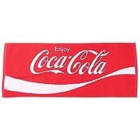 コカコーラ[フェイスタオル]ジャガード ロングタオル/今治タオル おやつマーケット