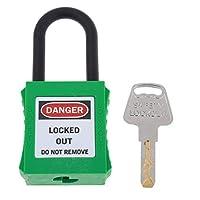 D DOLITY 安全パドロック ロックアウト用非電導性パドロック ロックアウト シャックル - グリーン2