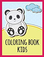 coloring book kids: Funny Coloring Animals Pages for Baby-2 (Baby Animals)