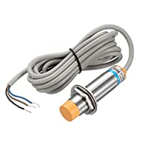 uxcell キャパシタンス近接スイッチ 3線式 PNP NO DC 6-36V 300mA 1-10mm LJC18A3-B-Z/BY