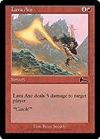 英語版 ウルザズ・レガシー Urza's Legacy ULG 溶岩の斧 Lava Axe マジック・ザ・ギャザリング mtg
