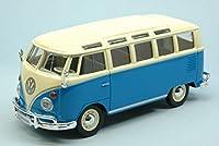 マイストmi31956bl VW t2van Samba 1962ライトブルーW /ホワイトRoof 1: 24Dieキャスト