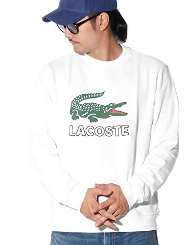 LACOSTE(ラコステ) トレーナー メンズ スウェット ワニロゴ プリント USAモデル SH6382 4カラー [並行輸入品]