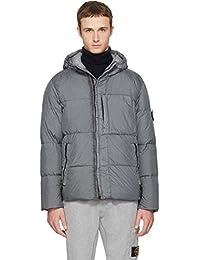(ストーンアイランド) Stone Island メンズ アウター ダウンジャケット Grey Hooded Down Jacket 並行輸入品
