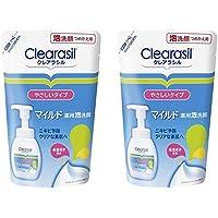 クレアラシル 詰替 ニキビ対策 薬用 泡洗顔フォーム 肌にやさしいマイルドタイプ 180ml×2個
