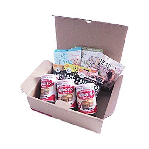 3日分(9食) 非常食セット A4サイズBOX入り アルファ米/パンの缶詰