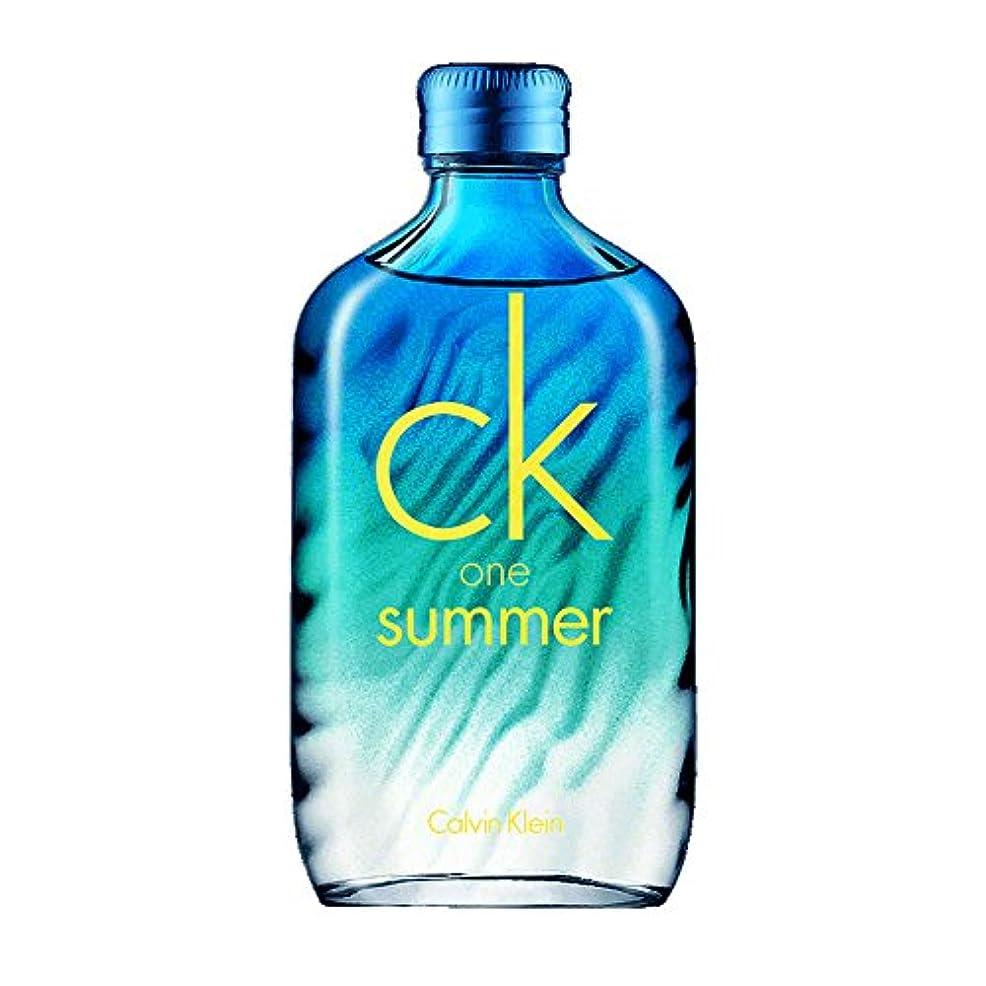 一方、スプレー呼吸するカルバンクライン 香水 ck one summer シーケーワン サマー 2015 オードトワレ 100ml EDT SP [並行輸入品]
