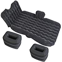 YZY 車の膨張ベッド キャンプ旅行のベッド カーマットレス 寝床 自走旅行 カーショックベッド (色 : Black)