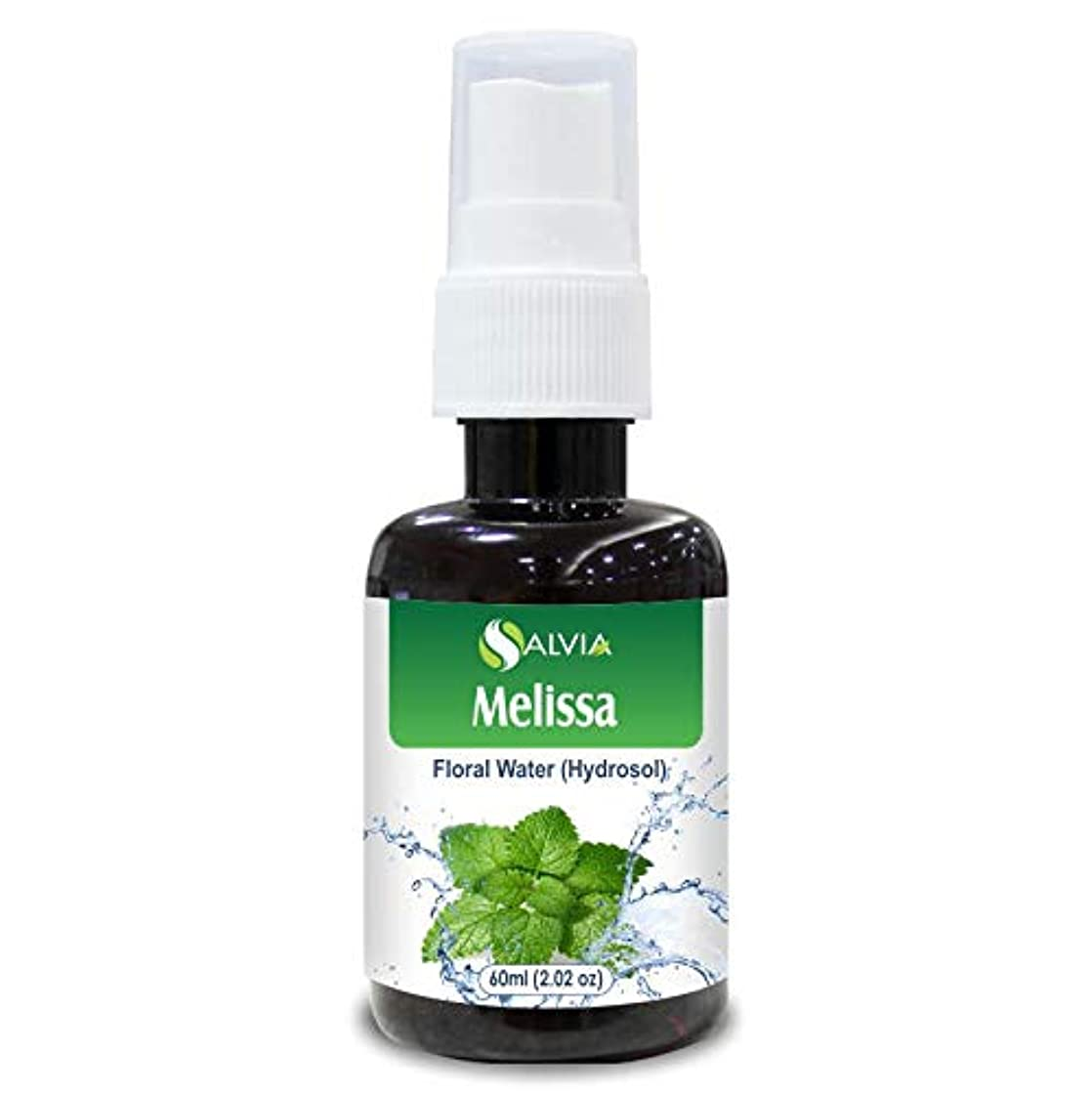 増幅する再集計洞察力のあるMelissa (Lemon Balm) Floral Water 60ml (Hydrosol) 100% Pure And Natural