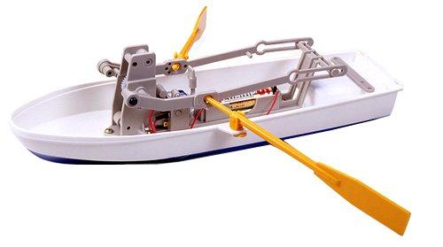 楽しい工作シリーズ No.114 手こぎボート工作基本セット (70114)